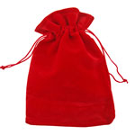 Velvet Gem Bags - Red Medium (12)