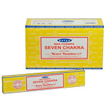 Satya Incense Sticks - Seven Chakra (12)