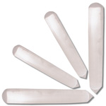Wand - Selenite Cylindrical with Point