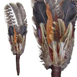 Zenature Smudging Feather - Fan