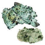 Decorator Crystal Request - Chromium Green Quartz Cluster Specimens