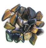 Tumbled Stone - Variegated Tiger Eye (1 lb)