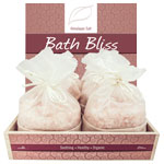 Himalayan Bath Bliss Salt Display 1 kg (12/display)