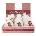 Himalayan Bath Bliss Salt Display 250g (24/display)