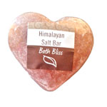 Himalayan Salt Heart Shaped Cleansing Bars (6)