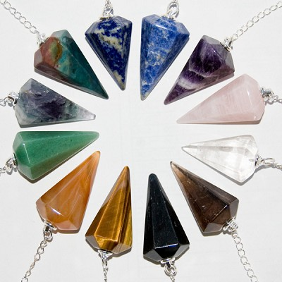 Faceted Pendulums - Assorted (24)