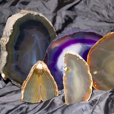 Agate Decorative Stand-ups - Large