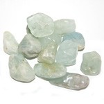 Tumbled Stone - Aquamarine