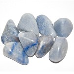 Tumbled Stone - Blue Quartz (1 lb)