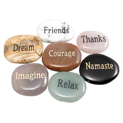 Wish Stone Magnets - Assorted (12)