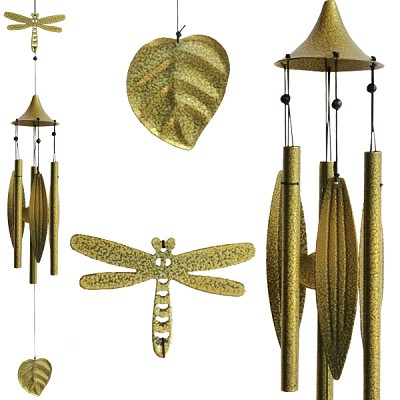 Leaf Wind Chimes - Dragonfly