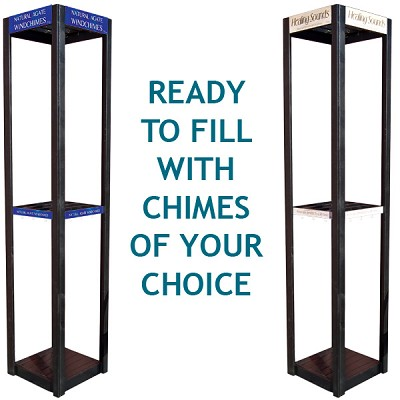 Wind Chime Display - 2 Tier (empty)