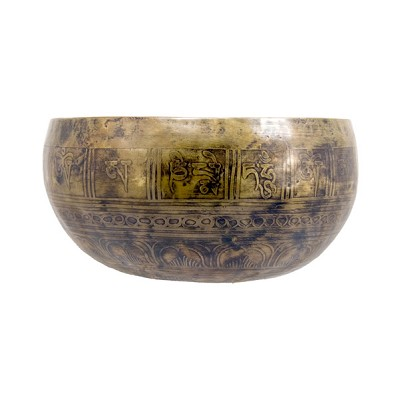 Singing Bowl - Handmade Etched (Sml)