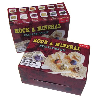 Dig-it-out Mini Kit - Rock, Mineral and Gem (6)