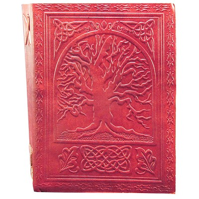 Zenature Leather Journal - Tree of Life (6 x 8 inch)