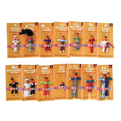 Personal Worry Dolls (30)