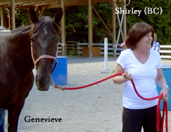 Shirley with Genevieve