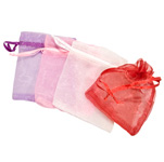 Organza Pouches - Assorted - 3 x 4 inch (100)