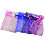 Organza Pouches - Assorted - 2 x 3 inch (100)