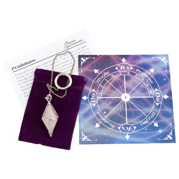 Pendulum Display Large Faceted Gemstone 40 Display