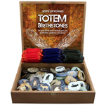 Totem Birthstones Display - Assorted w/ Gembags (72/display)