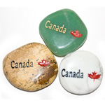 Canadiana Stones - Canada w/ Maple (12)