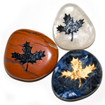 Canadiana Stones - Maple Leaf (12)