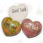 Puffy Heart Gems - Good Luck (6)