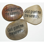Inspiration Stones - God grant me the serenity (6)