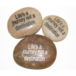 Inspiration Stones - Lifes a journey not a destination (6)