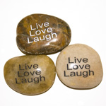 Inspiration Stones - Live Love Laugh (6)