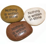 Inspiration Stones - Nothing is written in stone (6)