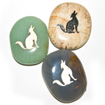 Totem Birth Stones - Wolf / Pisces (6)