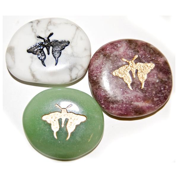 Animal Totem Stones Wholesale I Butterfly Stones | Semi