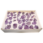 Amethyst Rough Point Specimens Box - Brazil