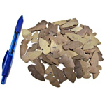 Mineral and Fossil Treasures - Flint Arrowheads (Size 0) (60 pcs)