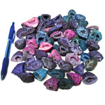 Bin Sized - Rainbow Geodes (Size 0) (60 pcs)