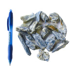 Mineral and Fossil Treasures - Blue Kyanite Clusters (Size 0) (35 pcs)
