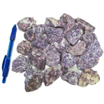 Mineral and Fossil Treasures - Lepidolite Rough (Size 1) (24 pcs)