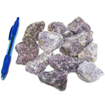 Mineral and Fossil Treasures - Lepidolite Rough (Size 2) (12 pcs)
