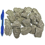Mineral and Fossil Treasures - Pyrite (Size 2) (20 pcs)