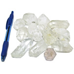 Bin Sized - Quartz Points Rough (Size 3) (12 pcs)