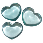 Puffy Heart Stones - Blue Obsidian (6)