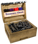 Treasure Chest Display - Magnetic Hematite (44 lbs)