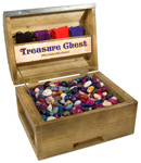 Treasure Chest Display - Tumbled Stone (22 lb)