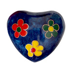 Harmony Heart - Blue - 3 Flowers (6)