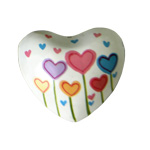 Harmony Heart - White - Heart Flowers (6)