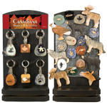 Canadiana Keychains and Magnets