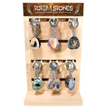 Totem Stone Keychain Counter Display - Assorted (48/display)
