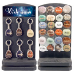 Wish Keychain and Magnet Counter Display - Assorted (84/display)